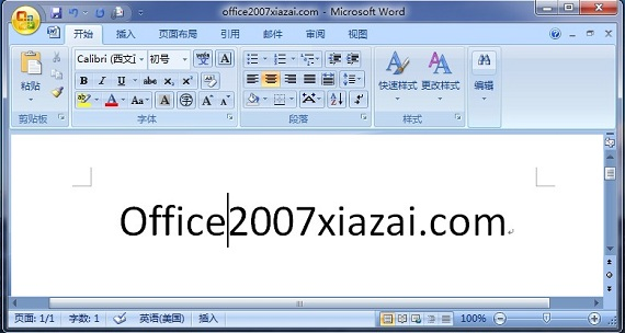 office 2007 - word 2007